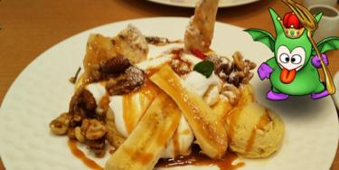 ドラクエドライブと珈琲8代葵カフェのパンケーキ♡